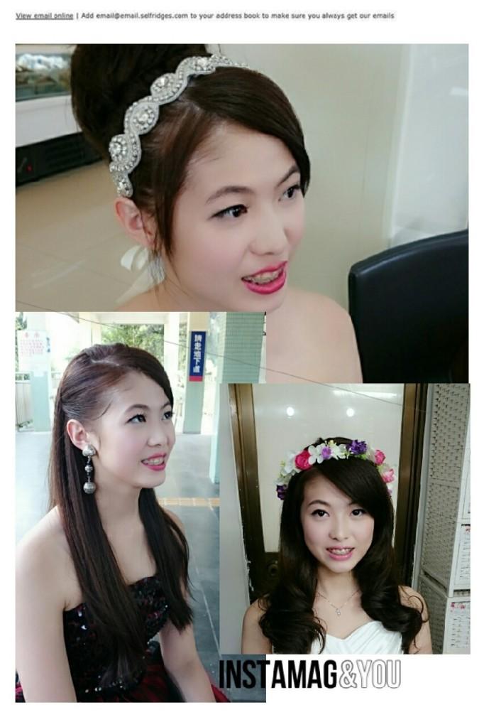 高雄新秘推薦-新祕Donna [2015-11-13]新娘妝髮