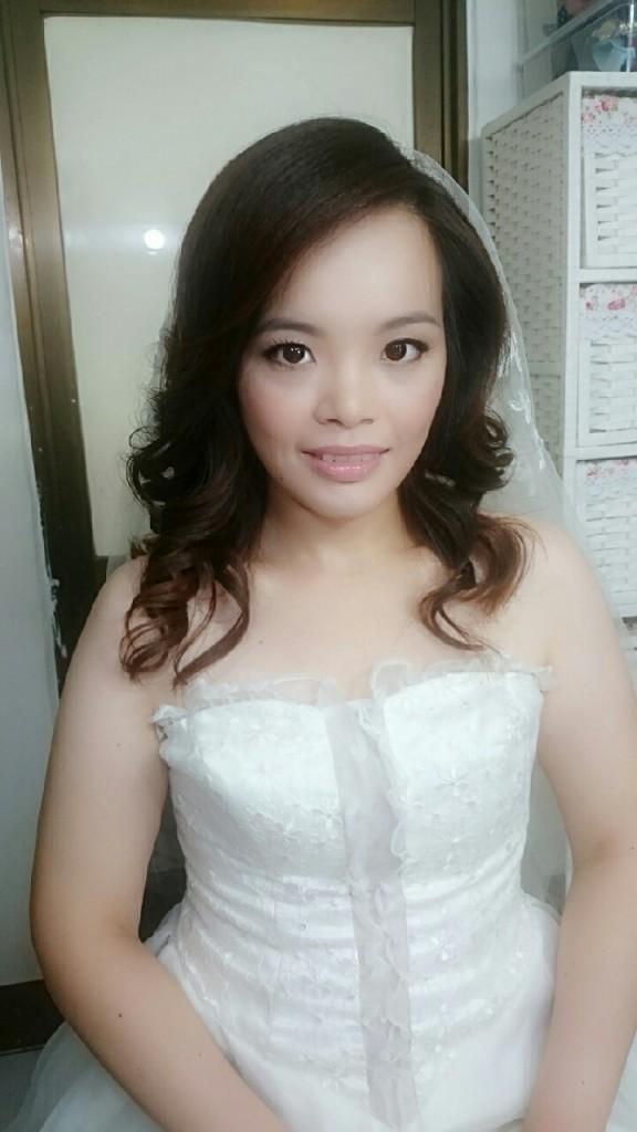 明星級新娘妝~雜誌感新娘妝~高雄新娘秘書