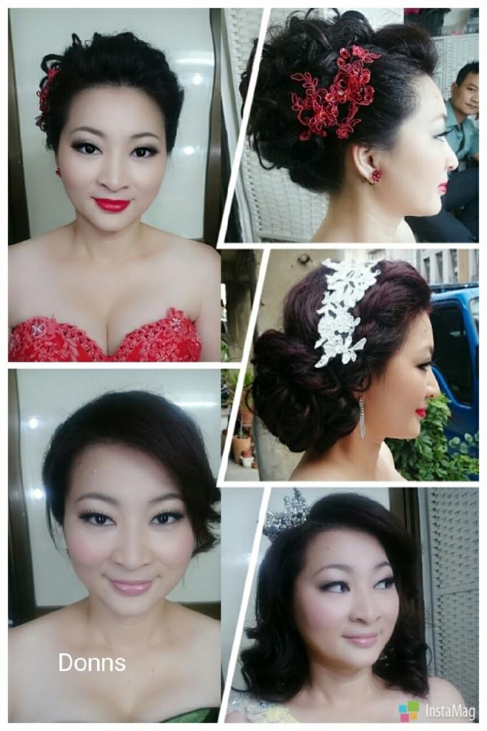 【新娘造型推薦-日系花嫁造型】鮮花編髮造型 清秀淡雅